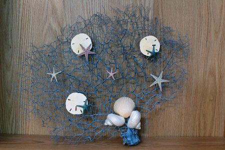 Beach Decor: Sea Fan, Sea Fan Art, Sea Fan Wall Art, Beach Decor, Coastal Decor, Wall Art, Bathroom Decor