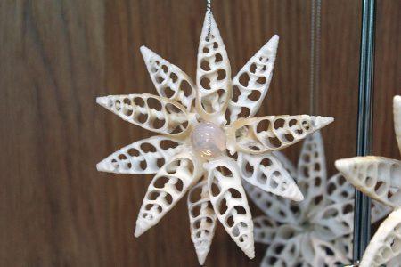 Beach Decor:Starfish Ornament, Christmas Beach Ornament, Nautical Decor Ornament, Coastal Decor Ornament