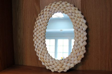 Beach Decor: Shell Mirror, Seashell Mirror, Beach Decor, Mirror, Coastal Decor, Nautical Decor