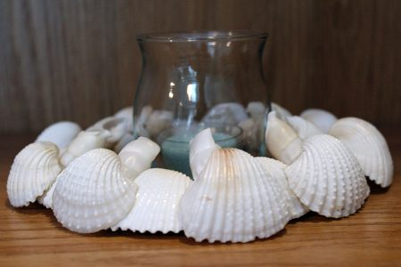 Shell Candle Ring