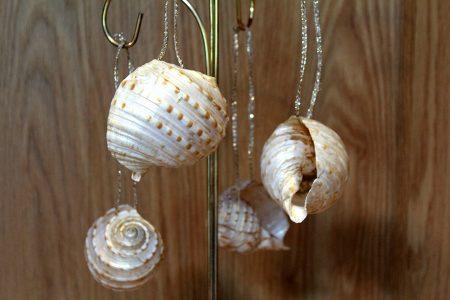 Beach Decor: Beach Decor Ornament, Nautical Decor Ornament, Coastal Decor Ornament, Starfish Ornament, Christmas Ornament